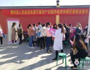 """唐河县人民医院 服务百姓健康行暨""""双筛""""工作走在乡间路上"""