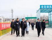唐河县第十五届人民代表大会代表观摩团莅临唐河县人民医院视察新址建设情况